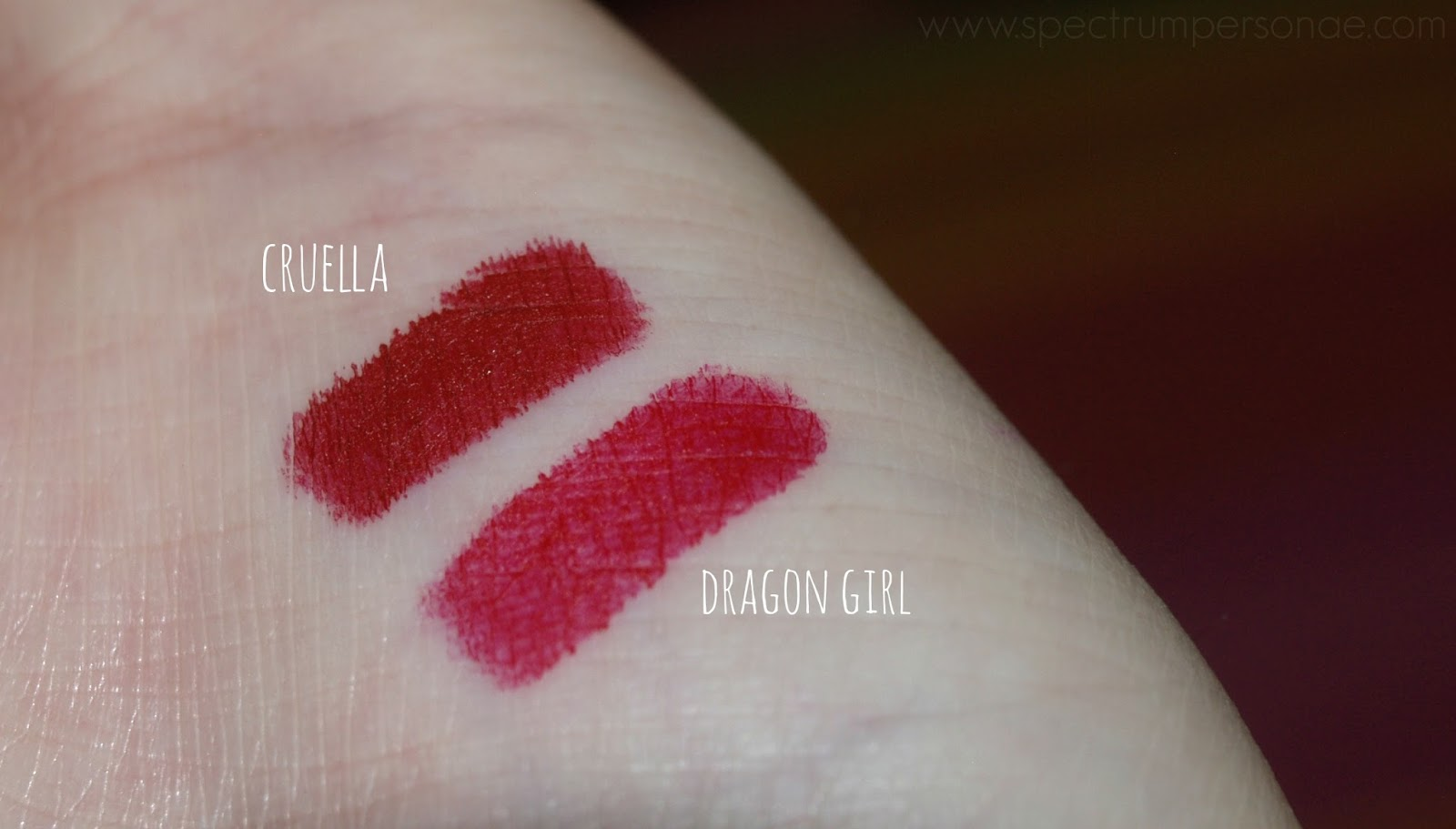 Spectrum Personae: NARS Velvet Matte Lip Pencil in Cruella ...