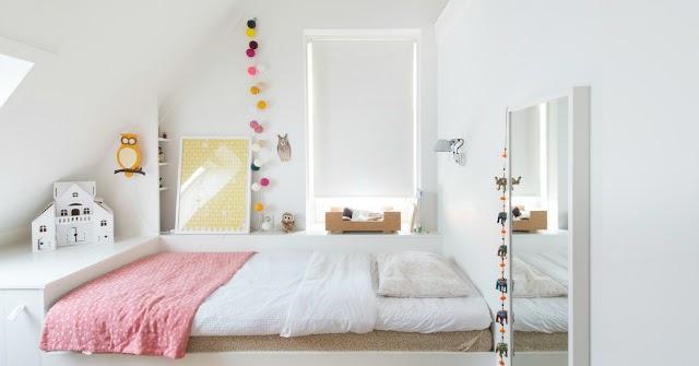 Habitaci n infantil para una ni a get the look la for Habitacion infantil estilo nordico