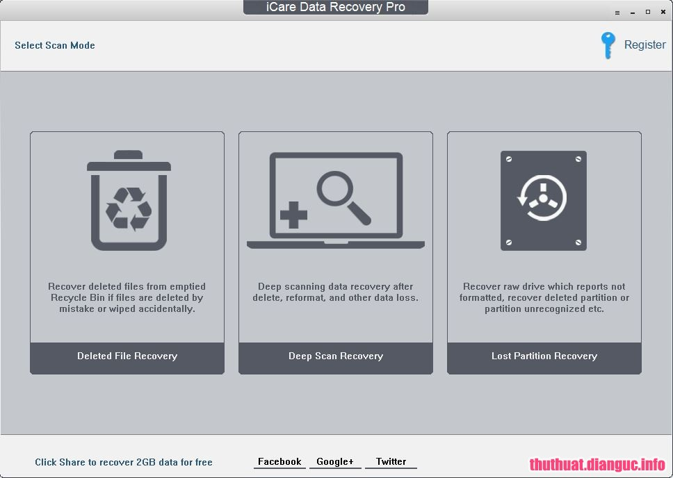 Download iCare Data Recovery Pro 8.2.0.0 Full Cr@ck
