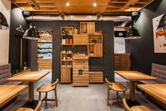 Konsep Desain Cafe unik