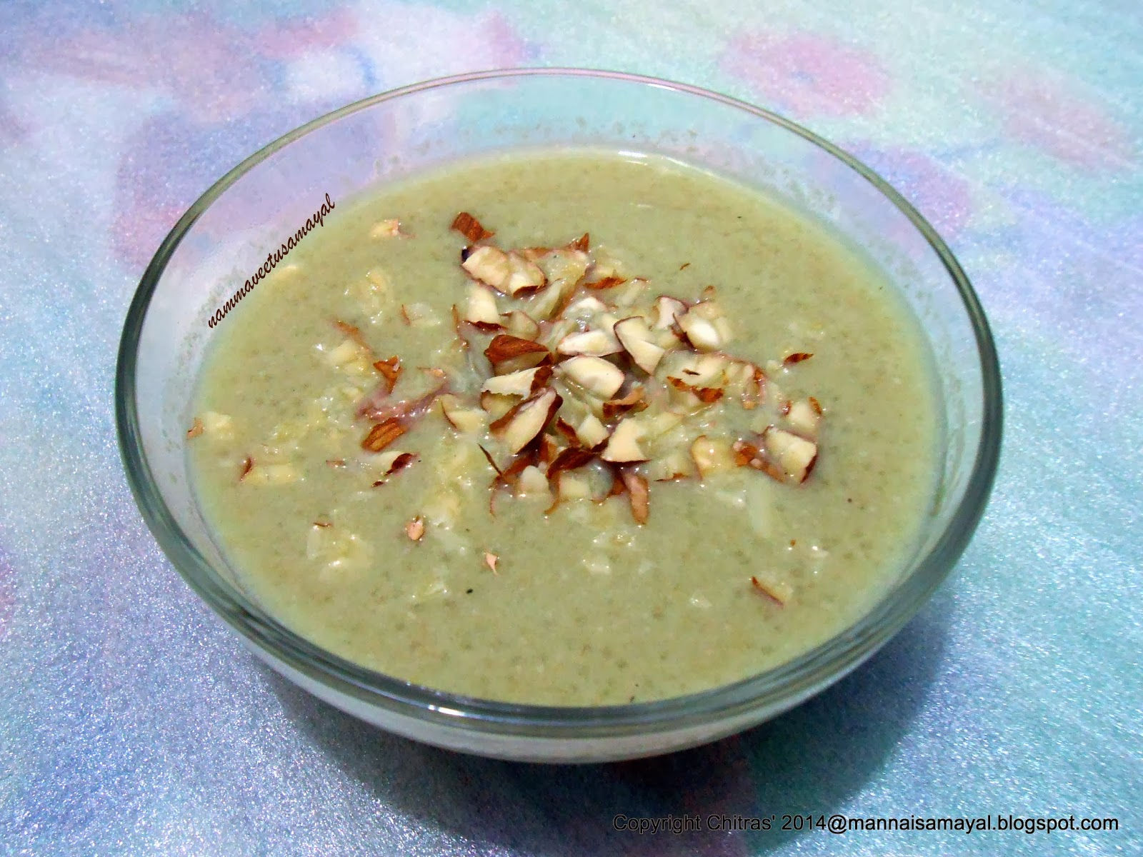 Amaranth Payasam 1