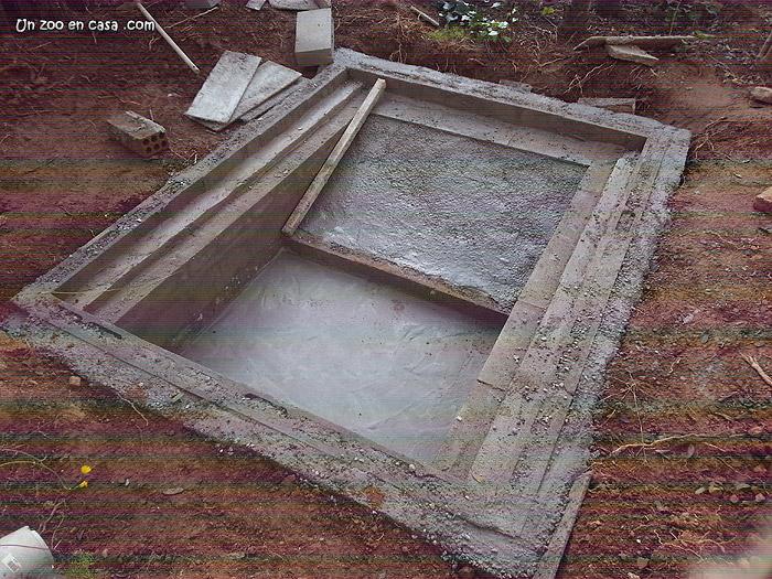 Como hacer una rampa de hormigon como hacer una rampa de for Estanque de hormigon