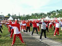 Ribuan Warga Kota Medan Ikuti Senam Jantung Sehat