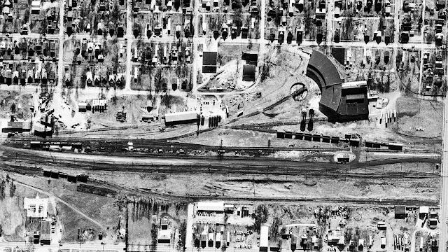 1975 Beardstown Railroad Yard
