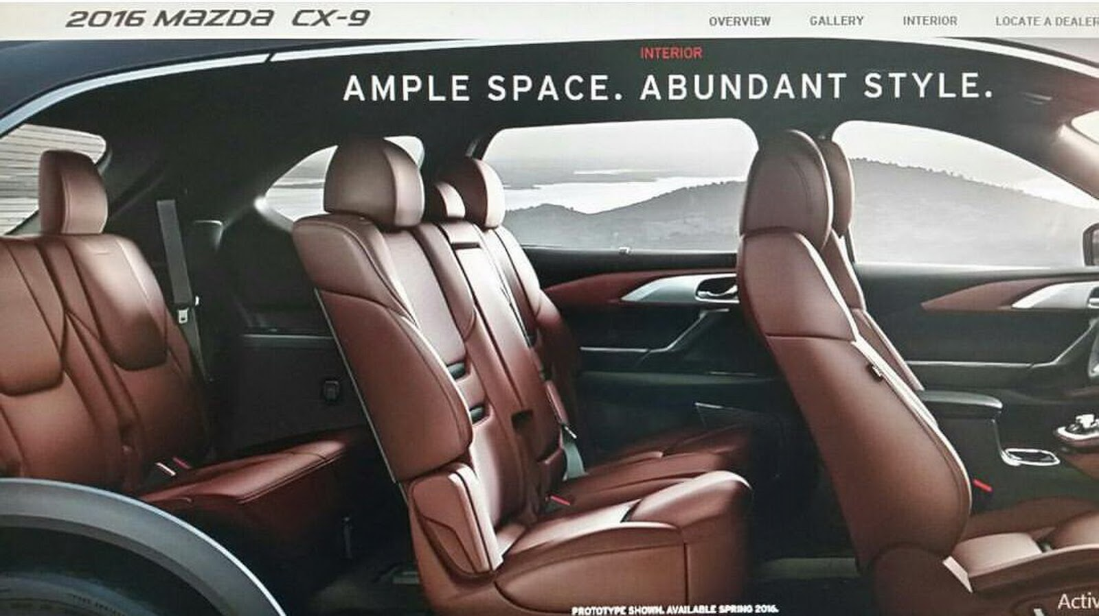 new 2016 mazda cx 9 suv this is it. Black Bedroom Furniture Sets. Home Design Ideas