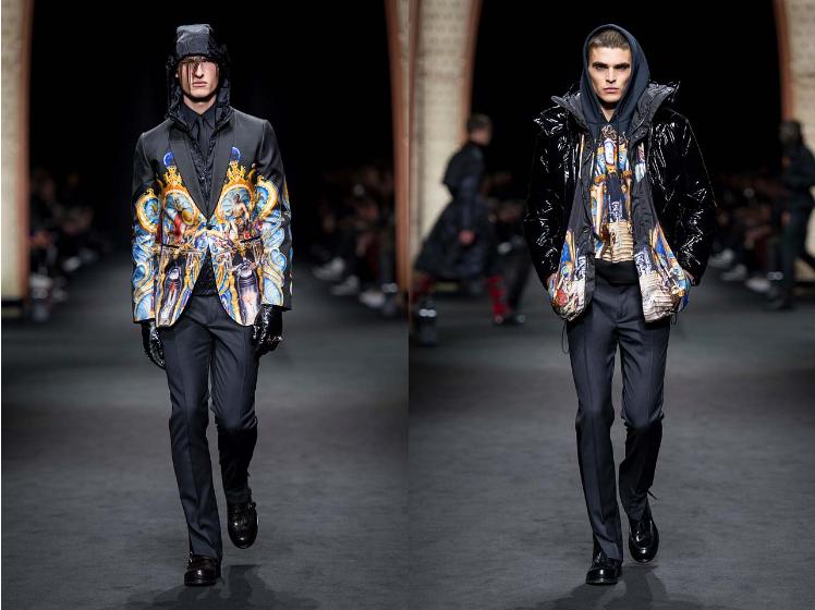 Versace_Men_FW17_ fall-winter-2017 (37)-printed-jacket-painting-menswear