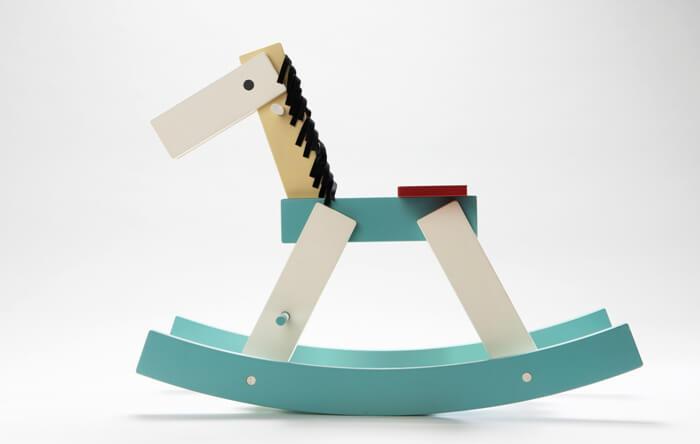 Idee regalo natale bimbi: cavallo a dondolo collezione Cavalcade
