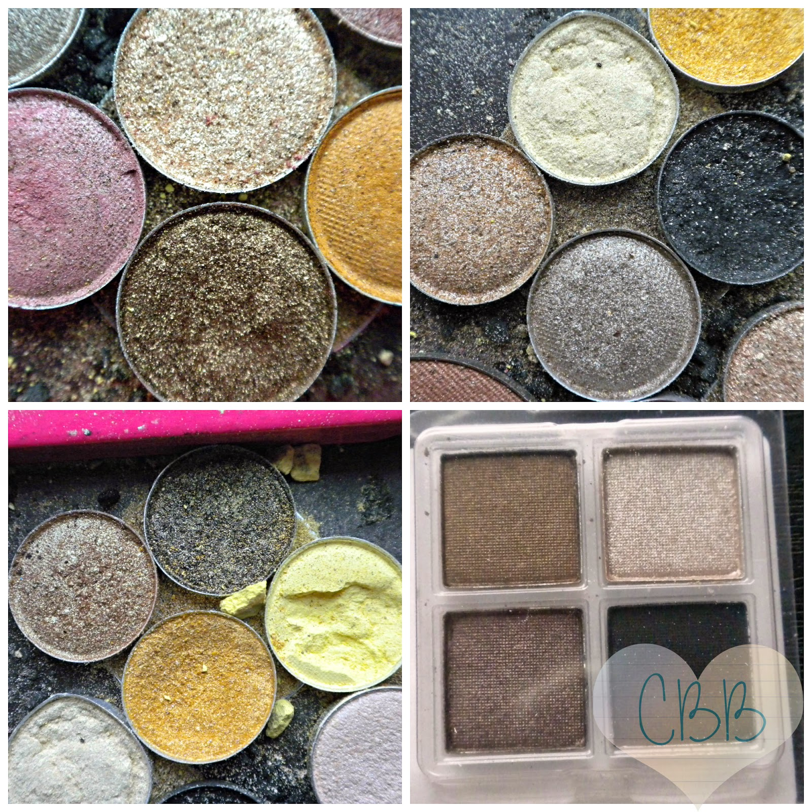 Powder Eyeshadow: COASTAL SCENTS (Singles $2 ~ Palettes $15+)