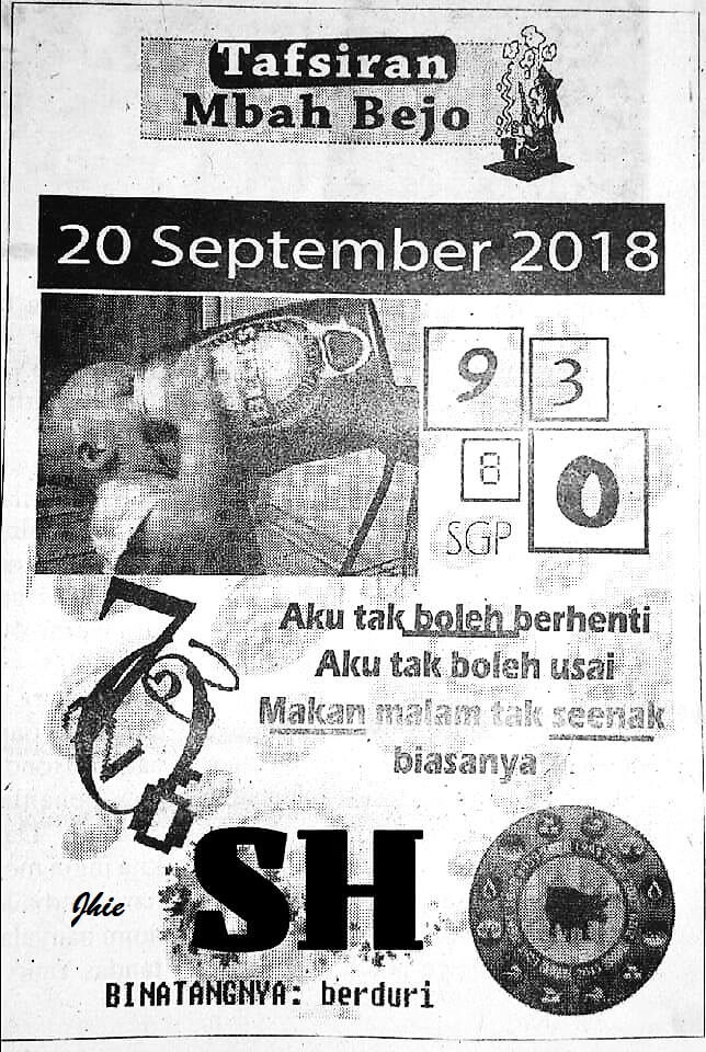 Welcome To Prediksi Alam Kode Syair Hongkong 20 September 2018