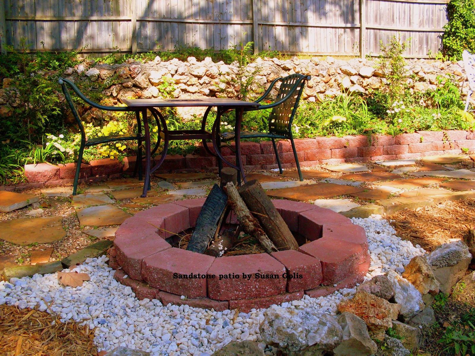 Yard and Garden Secrets: Dry Set Flagstone Patio or ... on Flagstone Backyard Patio id=12766