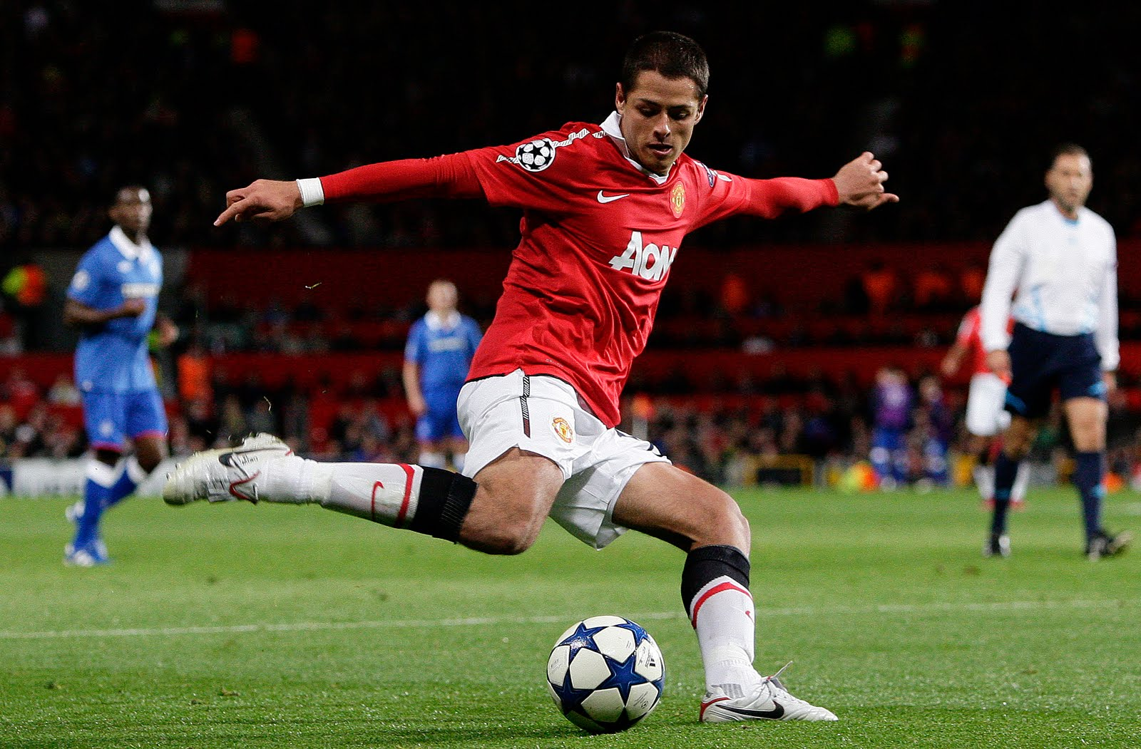 Chicharito (Javier Hernández Balcázar ) - Zone Soccer Player  Chicharito (Jav...