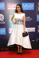 Actress Pooja Salvi Stills in White Dress at SIIMA Short Film Awards 2017 .COM 0037.JPG