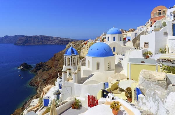 2.) Oia Village in Santorini, Greece - Welcome To The 19 Most Charming Places On Earth. They're Too Perfect To Be Real.