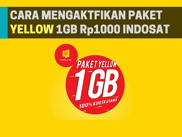 Dizaman ini internet merupakan suatu hal yang tak dapat lepas dari seseorang Tutorial Beli Paket Yellow 10+00 Dapat 1GB Indosat