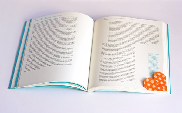 heart shaped page marker origami how about orange. Black Bedroom Furniture Sets. Home Design Ideas