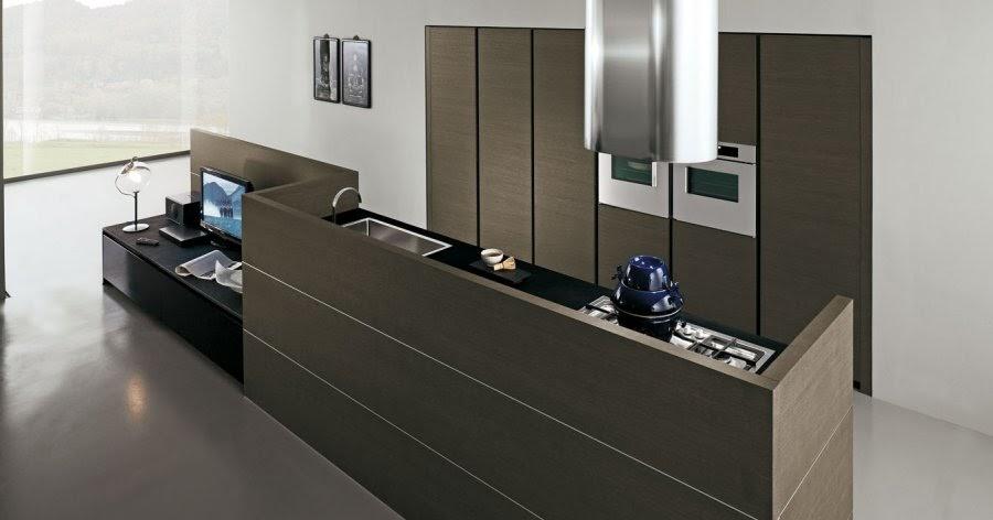 Sal n y cocina juntos pero independientes otra forma de - Salon y cocina integrados ...