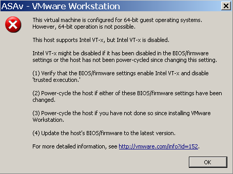 Cyber Security Memo: ASA 9 21 in Vmware Workstation 10