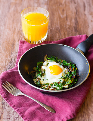 PERSIAN SPINACH AND EGGS – NARGESI
