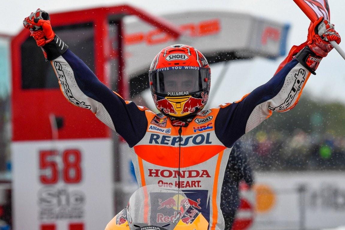 MotoGP Phillip Island 2017 : Marquez juara, Rossi kedua Vinales ketiga !