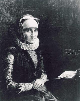 Postacie: Bertha Pappenheim, żydowska sufrażystka