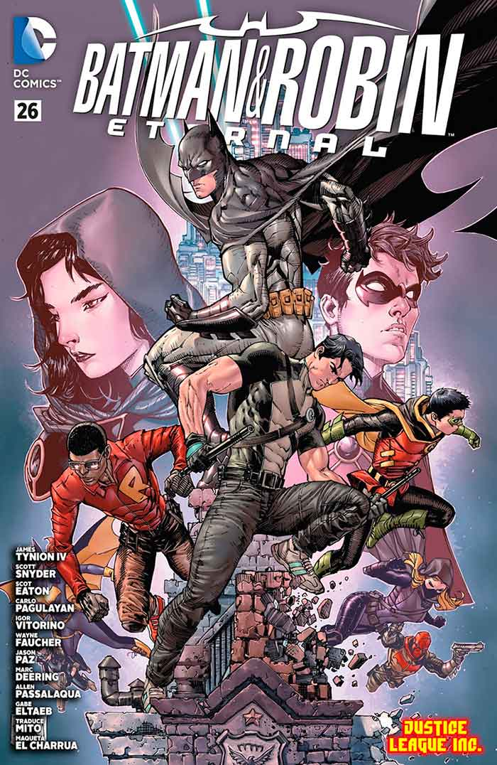 portada batman y robin eternal 26