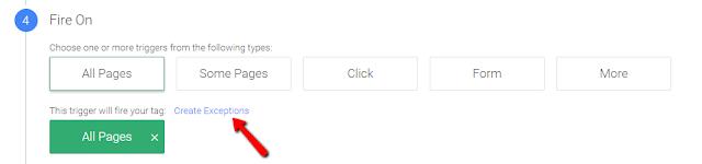 Google Tag Manager - чтобы код с формой подписки не срабатывал