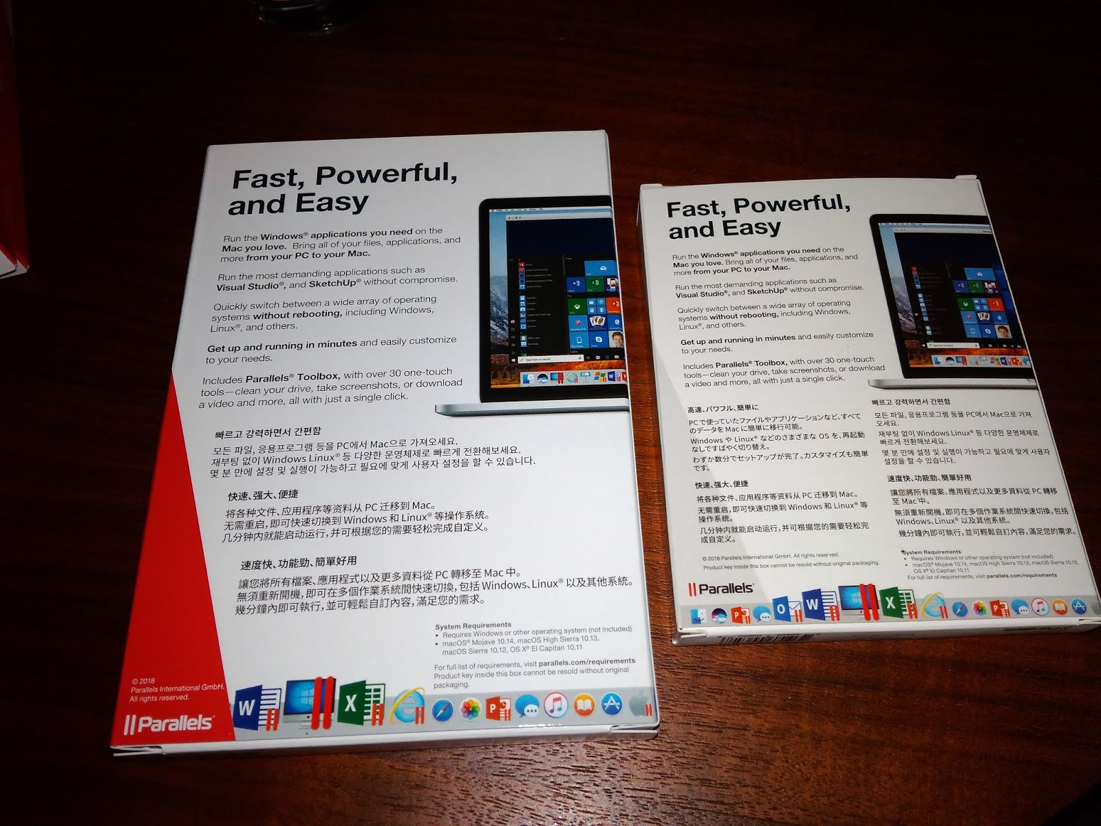 Parallels product key