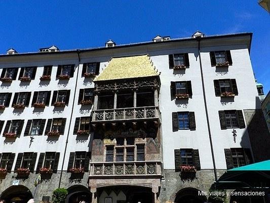 Tejadillo de oro, Innsbruck, Tirol, Austria