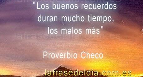 Proverbio Checo
