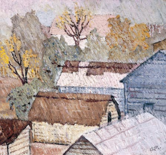 Dario Suro. Landscape. 1940