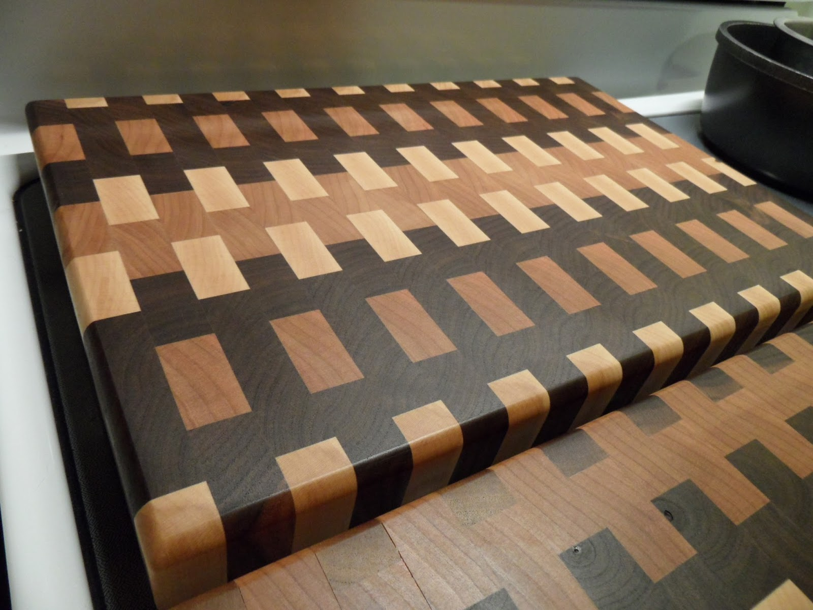 Red Oak End Grain Cutting Board
