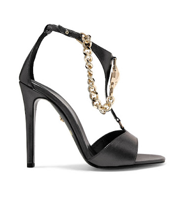 Just Cavalli Embellished Leather Sandals