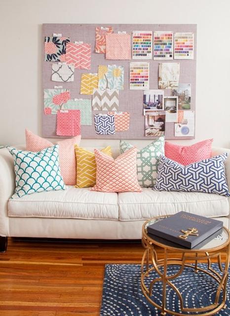 almofadas decoração