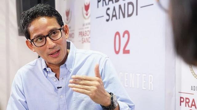 Sandiaga soal Pidato Jokowi: Aneh Tak Boleh Nyalon Kalau Belum Pimpin Negara