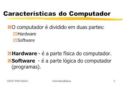 O Computador Estar Dividido Basicamente Em Duas Partes