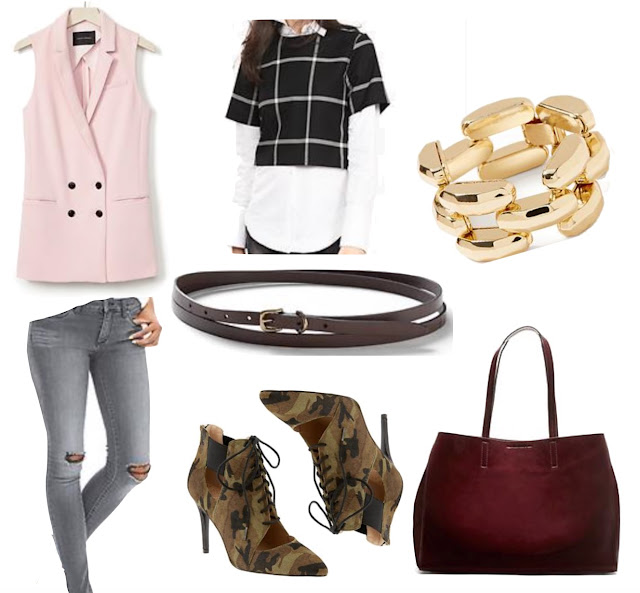 fashion inspiration fall style banana republic parlor girl