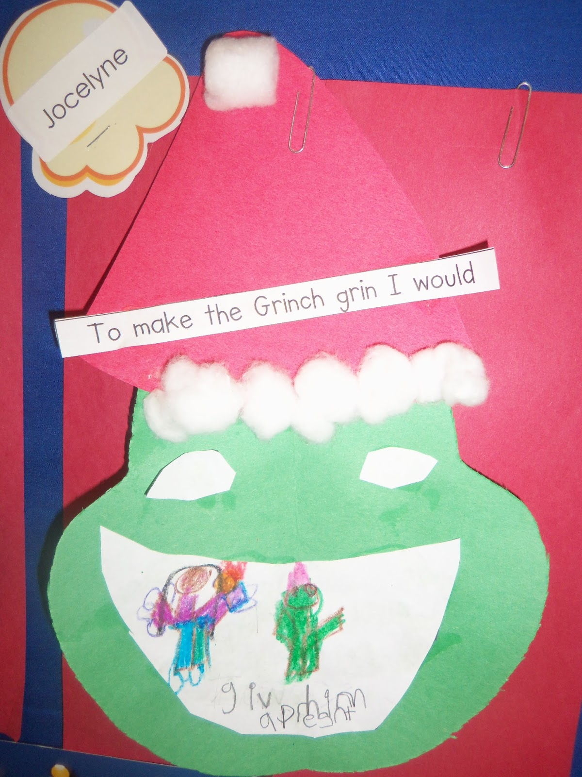 Mrs Wood S Kindergarten Class How The Grinch Stole Christmas