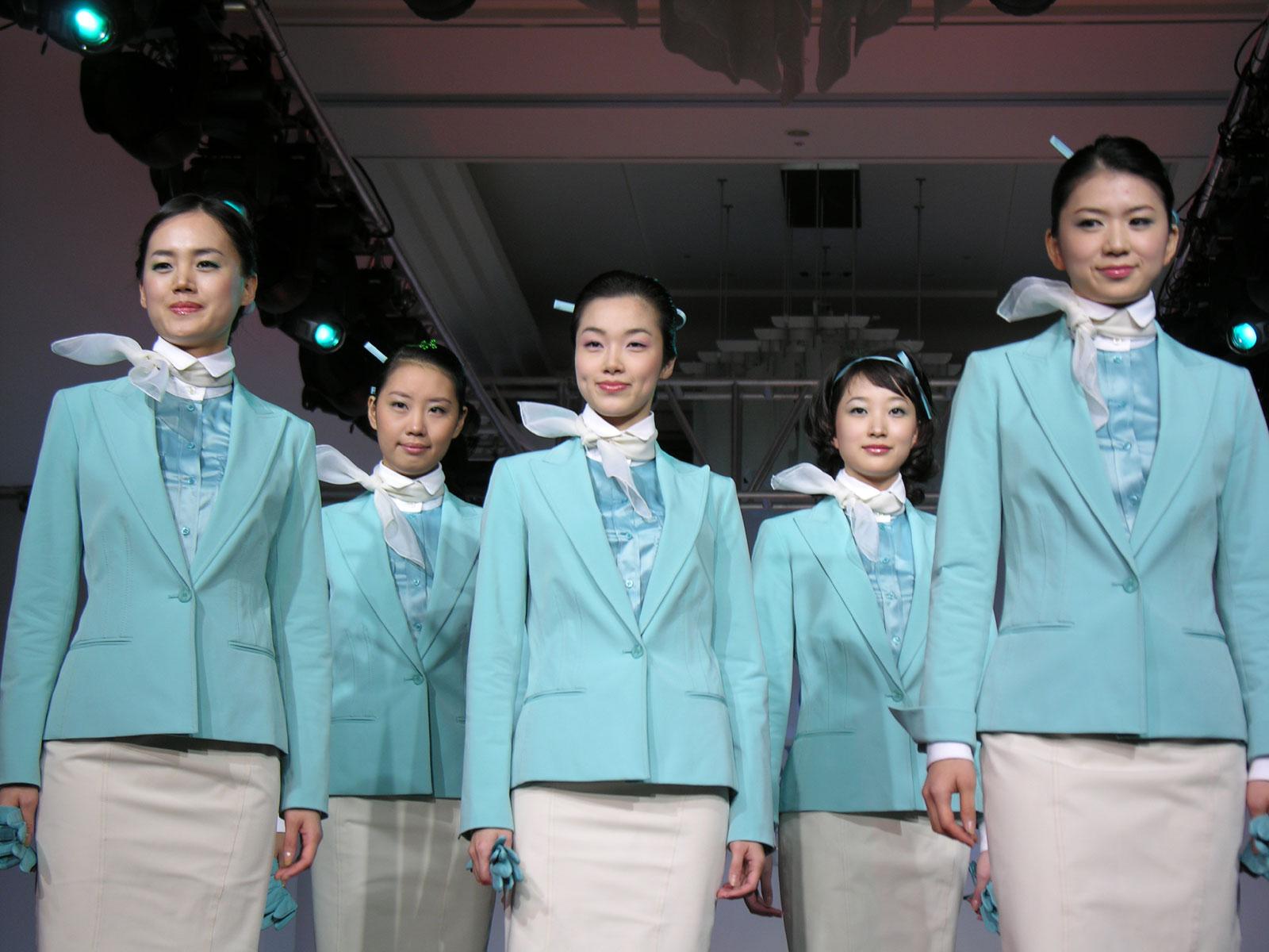 Korean Airline Uniform 11