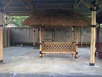 tukang saung bambu disawangan depok