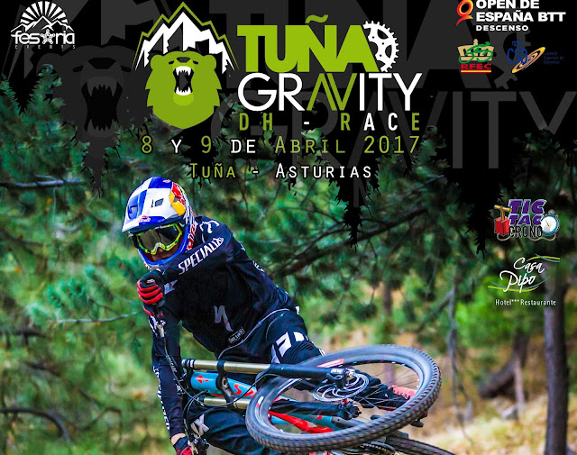 Tuña Gravity DH Race 2017