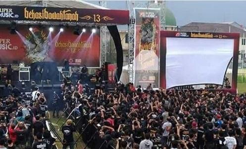 Live Review Bekasi Bawah Tanah 13 - Lorong Musik