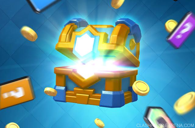صندوق الذهب فى لعبة كلاش رويال