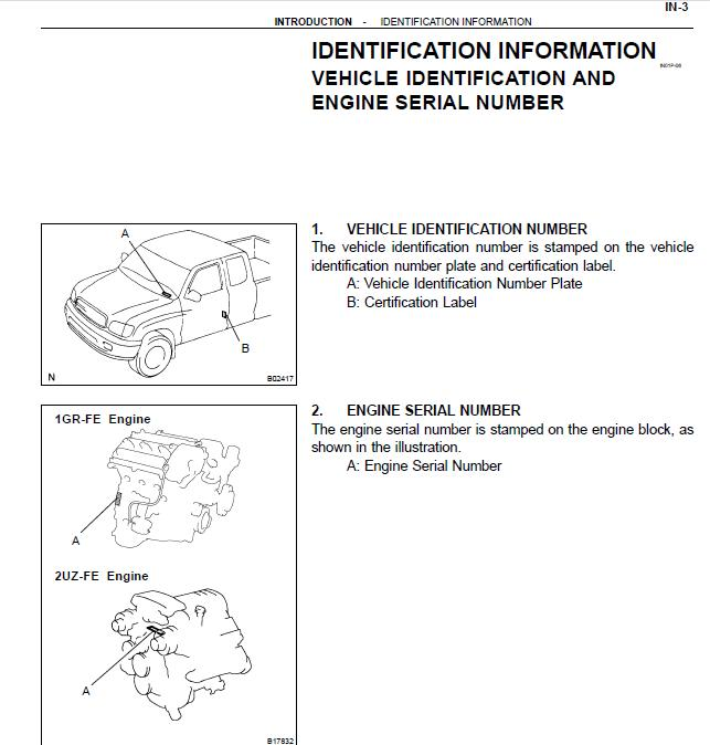Repair-manuals  Toyota Tundra 2001