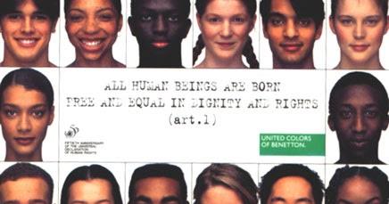 Minnywinamyjob el impacto social de la campana for Benetton y sus campanas publicitarias