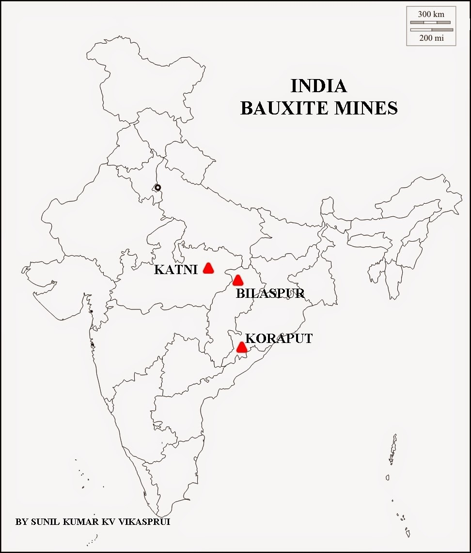 Iron mines in india map