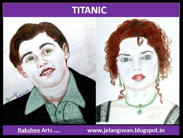 PENCIL DRAWING - TITANIC