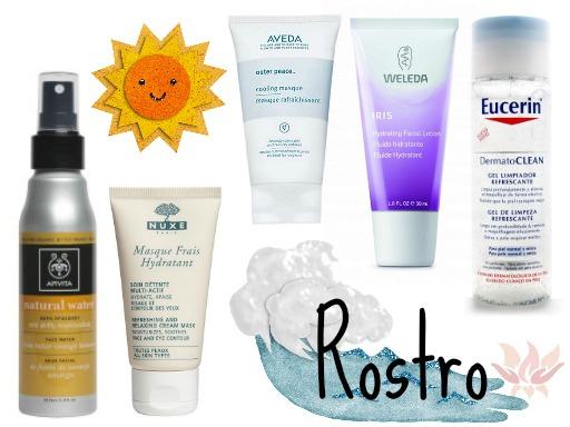 guía de productos para el verano