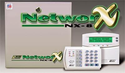 Networx NX-8 giá rẻ - Bộ báo cháy-báo trộm trung tâm NetworX NX-8
