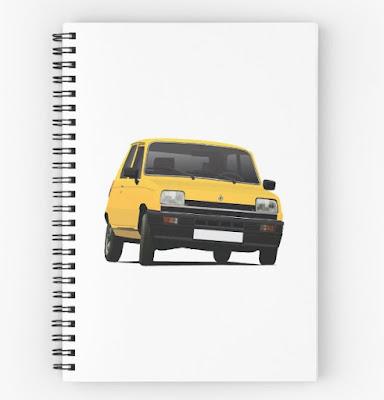 Renault 5 vihko Redbubble