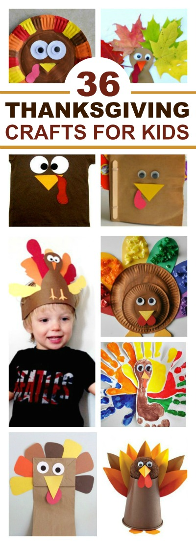 THANKSGIVING CRAFTS FOR KIDS- tons of ideas!  Pin!!! #thanksgivingcrafts #kidscrafts #turkeycrafts